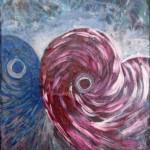 Les spirales amoureuses 24 X 18