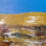 Le désert 18 X 24 Acrylique